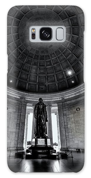 Jefferson Statue In The Memorial Galaxy Case