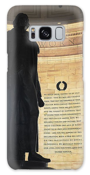 Jefferson's Words Galaxy Case