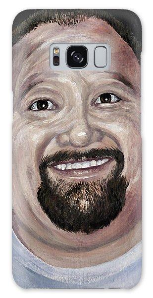 Jeffery Todd Waldemar Memorial Portrait Galaxy Case