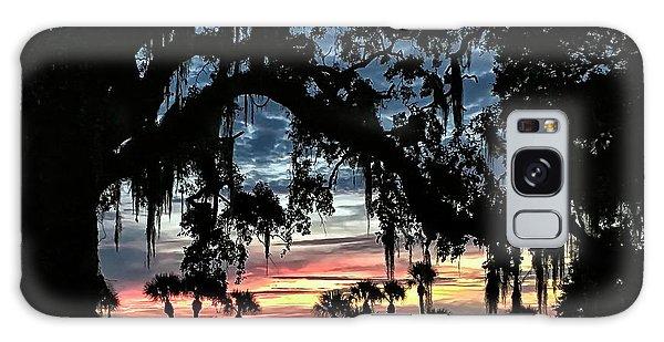 Jekyll Island Georgia Sunset Galaxy Case