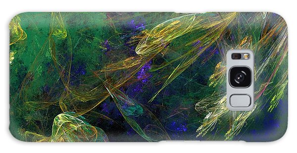 Reef Diving Galaxy Case - Jelly Fish  Diving The Reef Series 1 by David Lane