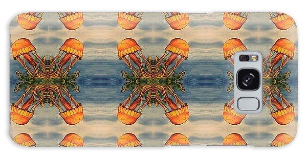 Jellyfish Pattern Galaxy Case