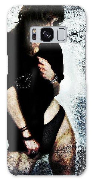 Jenn 1 Galaxy Case by Mark Baranowski