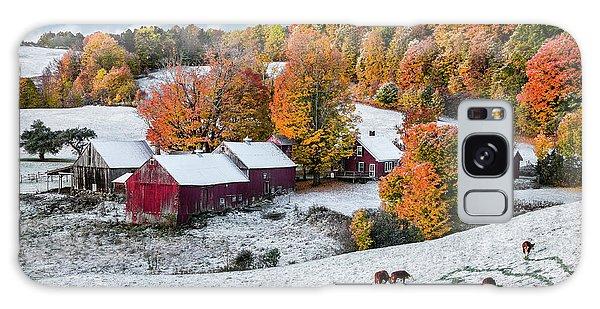 Jenne Farm, Reading, Vt Galaxy Case by Betty Denise