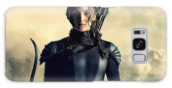 Jennifer Lawrence The Hunger Games  2012 Publicity Photo Galaxy Case