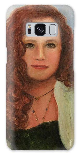 Jennifer Galaxy Case by Randy Burns