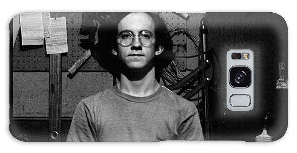 Self Portrait, In Darkroom, 1972 Galaxy Case