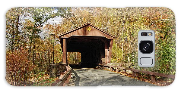 Jericho Covered Bridge Galaxy Case