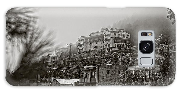 Jerome Az On A Foggy Morning Galaxy Case