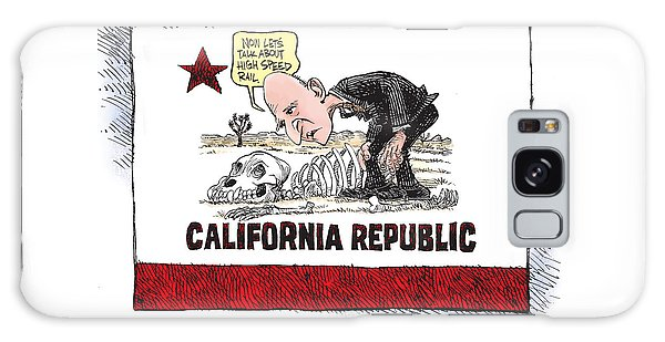 Jerry Brown - California Drought And High Speed Rail Galaxy Case
