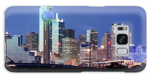 Jerry's Dallas Skyline Galaxy Case