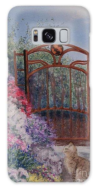Jerrys Garden Galaxy Case by Stanza Widen