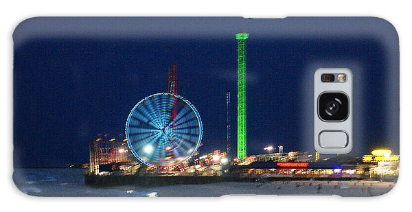 Jersey Shore Galaxy Case by Steve Karol