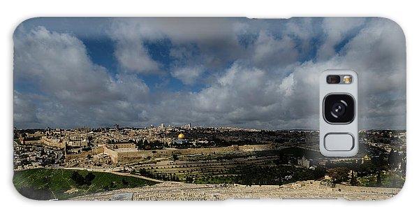 Galaxy Case - Jerusalem From Mount Of Olives by Steven Richman