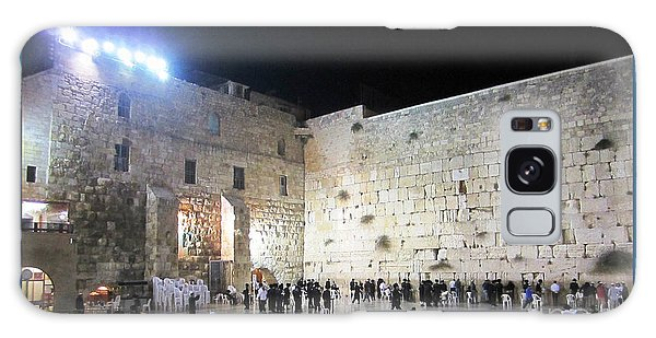Jerusalem Western Wall - Our Heritage Now And Forever Galaxy Case