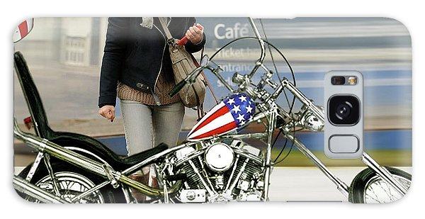 Jessica Alba, Captain America, Easy Rider Galaxy Case