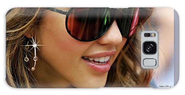 Jessica Alba, Cool Shades Galaxy Case