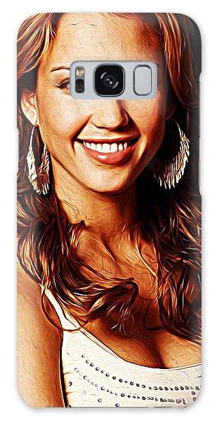 Jessica Alba Galaxy Case