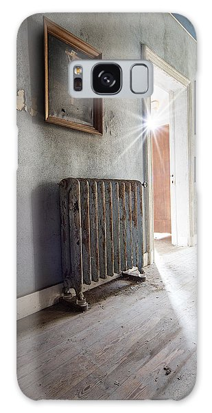 Jesus Above The Heater - Abandoned Building Galaxy Case by Dirk Ercken