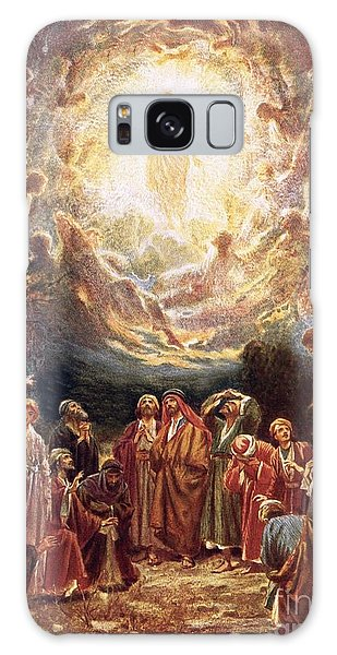 New Testament Galaxy Case - Jesus Ascending Into Heaven by William Brassey Hole