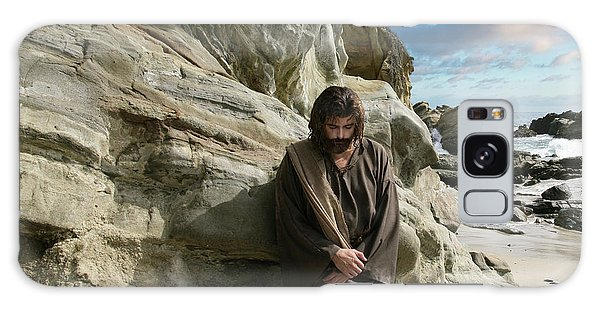 Jesus Christ- I Have Heard Your Prayer And Seen Your Tears I Will Heal You Galaxy Case