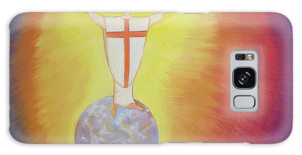 World Religion Galaxy Case - Jesus Christ Is Our High Priest Who Unites Earth With Heaven by Elizabeth Wang
