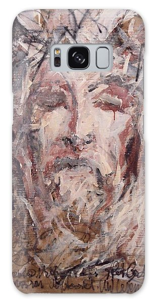 Jesus Christ Galaxy Case by Pierre Van Dijk