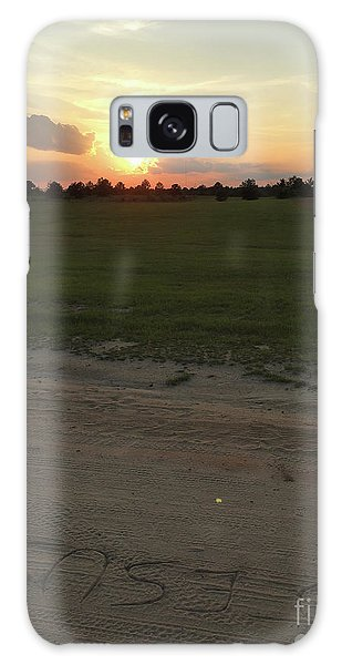 Jesus Healing Sunset Galaxy Case