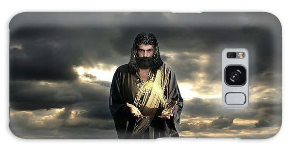 Jesus In The Clouds Galaxy Case