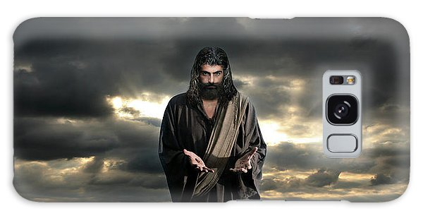 Jesus In The Clouds With Glory Galaxy Case