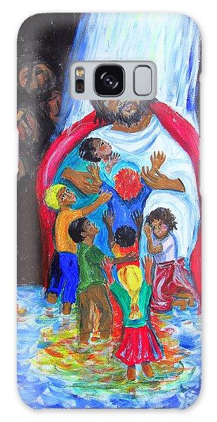 Jesus Loves The Children Galaxy Case