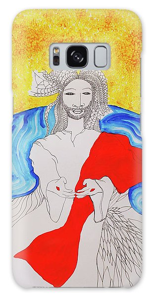 Jesus Messiah Second Coming Galaxy Case