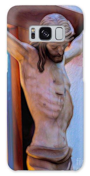 Jesus On The Cross Galaxy Case
