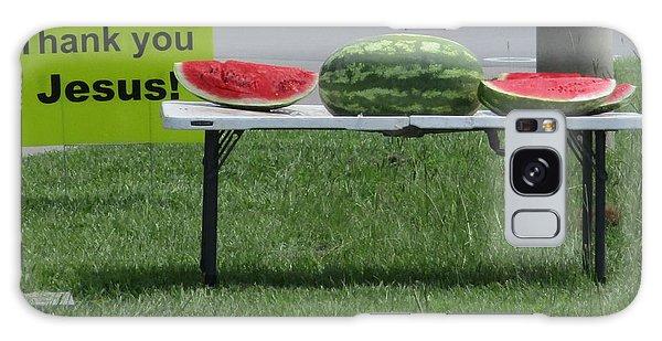 Jesus Watermelon Galaxy Case