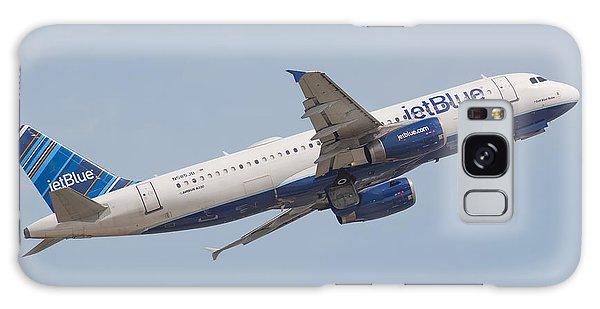 Jet Blue Galaxy Case