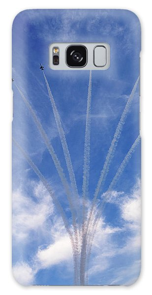 Jet Planes Formation In Sky Galaxy Case