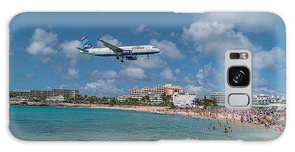 jetBlue at St. Maarten Galaxy Case