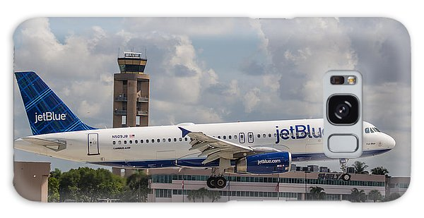 Galaxy Case featuring the photograph Jetblue Fll by Dart and Suze Humeston