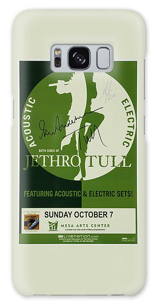 Jethro Tull Signed Poster Galaxy Case