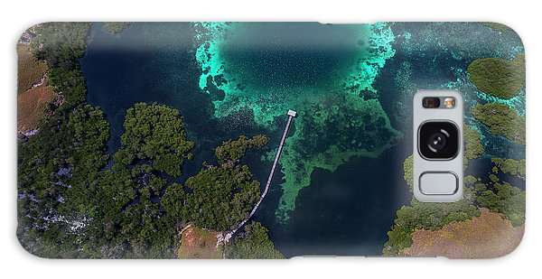 Galaxy Case featuring the photograph Jetty In Sea, Flores by Pradeep Raja PRINTS