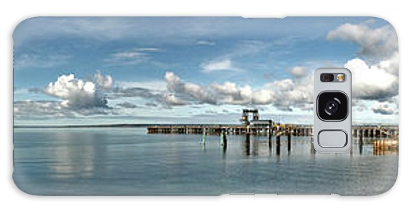 Galaxy Case featuring the photograph Jetty To Shore by Stephen Mitchell