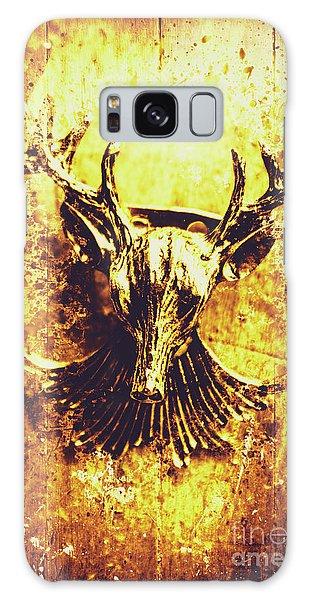 Antlers Galaxy Case - Jewel Deer Head Art by Jorgo Photography - Wall Art Gallery
