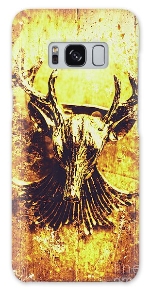 Splash Galaxy Case - Jewel Deer Head Art by Jorgo Photography - Wall Art Gallery