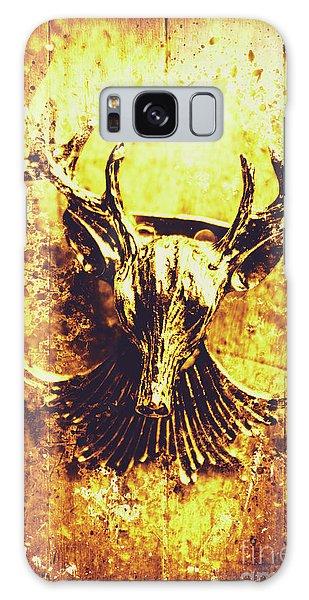 Splash Galaxy Case - Jewel Deer Head Art by Jorgo Photography - Wall Art Gallery