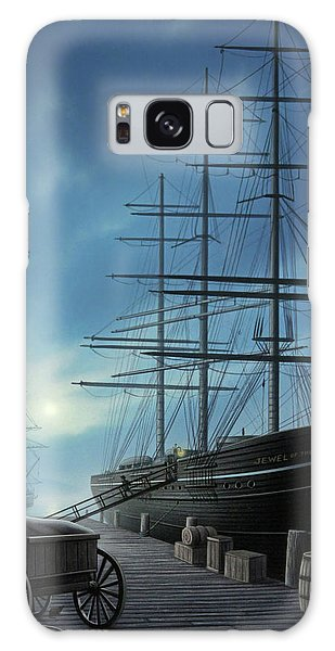 Docked Boats Galaxy Case - Jewel Of The North by Jerry LoFaro