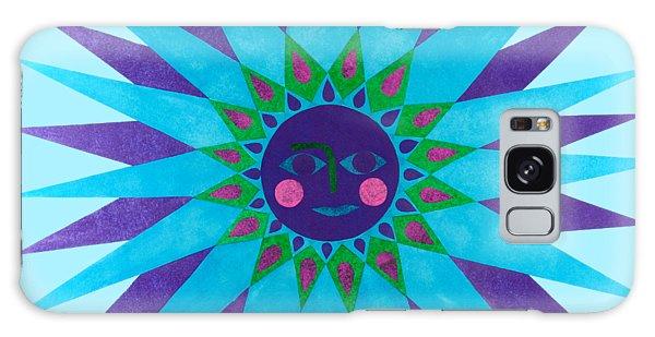 Jeweled Sun Galaxy Case
