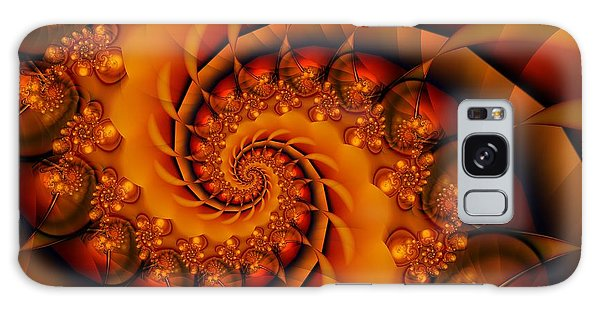 Jewels Of Autumn Galaxy Case by Michelle H