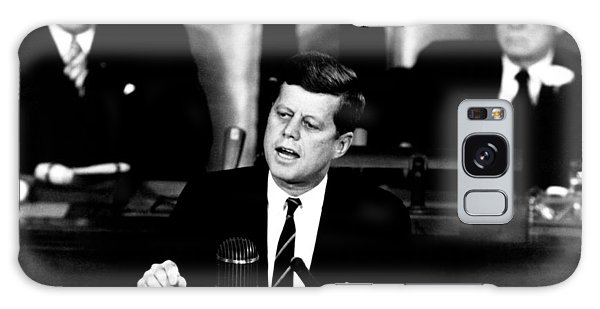 Pig Galaxy Case - Jfk Announces Moon Landing Mission by War Is Hell Store