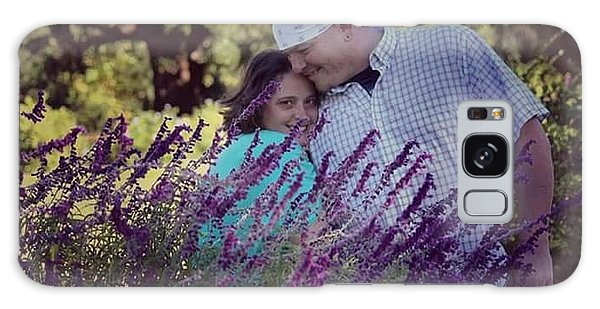 Galaxy Case - Jill Purple by Lisa Marie Towne