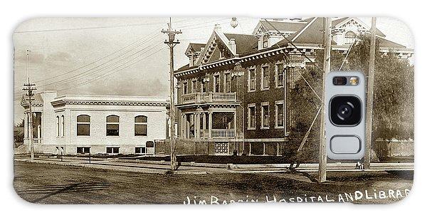 Jim Bardin Hospital The Hospital Was Located On The E Side Of Main Street  Circa 1910 Galaxy Case
